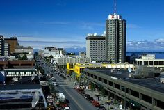 Downtown Anchorage Alaska | picture of Fourth Avenue Anchorage Image