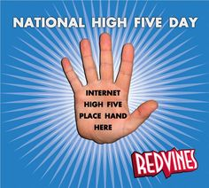 Happy National High Five Day!