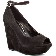 Stacys BlackVeronica JessicaSimpsonShoes AnkleStrap Pumps Wedges Platform AnkleStrap heels com Black Veronica Stacys Shoes By Jessica Simpson