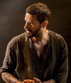 Richard Armitage as John Proctor: like a painting, this one #TheCrucible