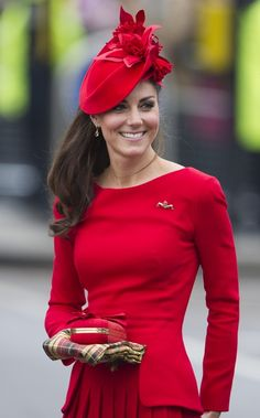I think my favorite Kate look was the red McQueen (with accompanying Scottish scarf) that she wore to the Queen's Diamond Jubilee on the Thames.