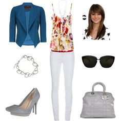 """""""Let's Do Lunch"""" by calivalee on Polyvore  love the top & pants!"""
