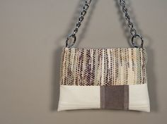 small tote bag reversible handbag shoulder bag by morewarped, $89.00