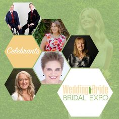 Who is your perfect celebrant!? Find out at the Wedding and Bride Bridal expo
