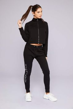 7780f699ddca26 Ardene Kendall & Kylie Scuba Track Pants Kylie Collection, Pants Outfit,  Drawstring Waist,