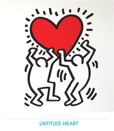 Keith HARING - Stickers muraux géants Officiels - Déco PopArt par Keith Haring…