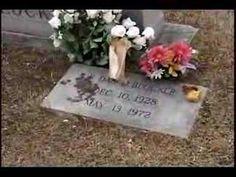 Dan Blocker 1972 Grave/Dekalb Texas