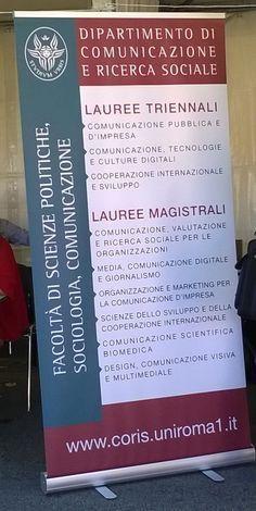 Comunicazione, impresa, marketing, tecnologia, sociologia e ricerca sociale: l'offerta formativa del Coris in un unico manifesto!