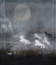 Art & Ghosts - 5 Horses
