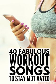 - Looking for the best motivational workout songs to add to your gym playlist? Great for running cardio HIIT Zumba & other fast-paced workouts this list of upbeat workout songs will get your heart pumping for a full-body workout. Motivational Workout Songs, Best Workout Songs, Workout Music, Fun Workouts, Exercise Routines, Gym Music, Workout Ideas, Quick Weight Loss Tips, Weight Loss Goals