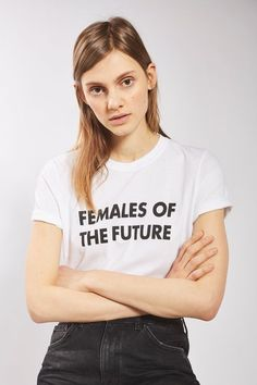 Females of the Future Tee - Statement Denim - We Love - Topshop