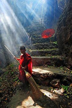 Little Tibetan Monk