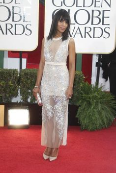 Photos from the Red Carpet: The 70th Annual Golden Globe Awards - Kerry Washington #Scandal