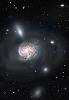 Universe Island in the cluster of Coma
