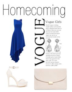 """""""VOGUE Girls"""" by adna-00 ❤ liked on Polyvore featuring Halston Heritage, Nly Shoes, Mansur Gavriel and Kenneth Jay Lane"""