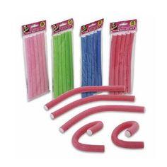 "9"" Spiral Hair Foam Curler Roller Set - 20 Pieces - twist curls flex rods (3/4"") by OTC, http://www.amazon.com/dp/B00C28EOXM/ref=cm_sw_r_pi_dp_725Urb0G6CP4J"