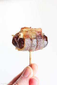 Bacon Wrapped Dates with Goat Cheese recipe is a surefire way to wow your friends. Sweet Dates stuffed with creamy goat cheese and wrapped with crispy salty