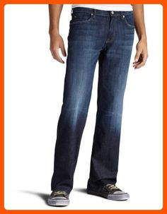 7 For All Mankind Men's Austyn Relaxed Straight-Leg Jean in Los Angeles Dark, Los Angeles Dark, 32x34 - Mens world (*Amazon Partner-Link)