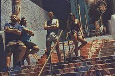 Treino de perna nesse domingão a noite. Obrigado pelo convite @laritim10 e @paulacoliveiraa  foi maravilhoso vamos de novo!