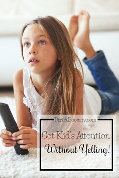 5 tips to get your child to listen when you try to get their attention!  Some really cool and fun parenting tips here!  I love idea #5! Can't wait to try it with my family.