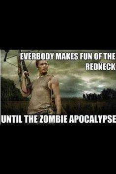 Zombie Apocalypse @Kari Jones  This is so Colin