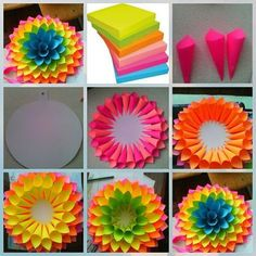 Paper Flower Backdrop Giant Paper Flowers Diy Flowers Quilling Diy Paper Paper Crafts Paper Art Diy Arts And Crafts Diy Crafts Paper Flowers Craft, Flower Crafts, Diy Flowers, Flowers Decoration, Paper Flowers How To Make, Tissue Paper Decorations, Rolled Paper Flowers, Rolled Paper Art, Wall Flowers