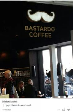 Oh look it's Romano's coffee shop