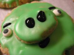Angry Birds pig cookies! Still one of the most fun things I've made.