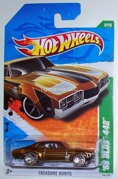 2011 HOT WHEELS RLC SUPER TREASURE HUNT - '68 OLDS 442
