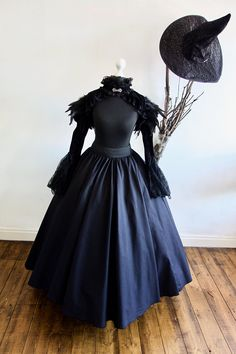Women's Halloween Adult Evil Witch Costume, includes Free Witches Hat Various sizes Witches Costumes For Women, Witch Costumes, Halloween Costumes, Witch Hats, Witch Dress, Witch Outfit, Adult Halloween, Halloween Town, Halloween Ideas