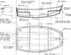 6 ft Plywood Pram Dinghy, Design #97