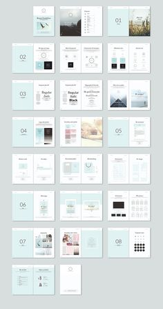 Brand Guidelines by Imagearea on @creativemarket