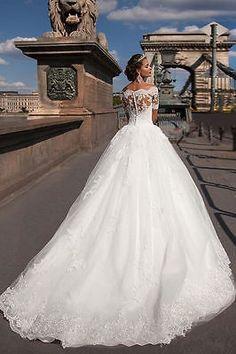 New White/Ivory Lace Bridal Gown Wedding Dress Custom Size 4 6 8 10 12 14 16 18+