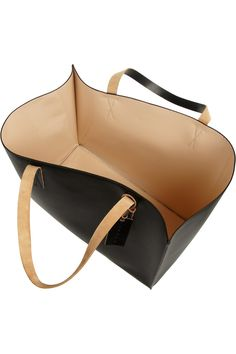 Marni | Large faux leather tote | NET-A-PORTER.COM