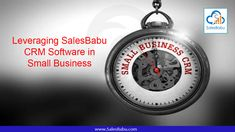 Looking for a CRM tool for your startup or SME? Leverage the advantages of SalesBabuCRM for managing your business needs. Routine Work, Crm Tools, Sales Crm, Business Look, Business Management, Cooking Timer, Small Businesses, Entrepreneur, Software