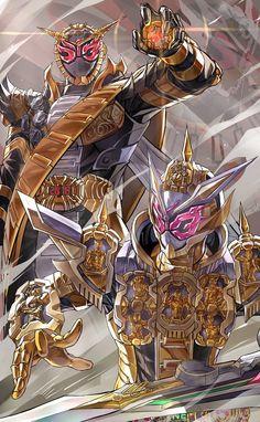 Kamen Rider Ex Aid, Kamen Rider Decade, Kamen Rider Zi O, Kamen Rider Series, Robot Cartoon, Cartoon Art, All Power Rangers, Character Art, Character Design