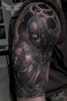 The Dark Knight tattoo