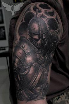 The Dark Knight tattoo