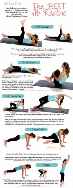 Another GREAT ab routine!