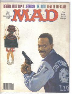 Mad Magazine No.275 December 1987