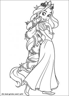 the best printable tangled coloring pages httpcoloringalifiahbiz - Skylanders Coloring Pages Jet Vac