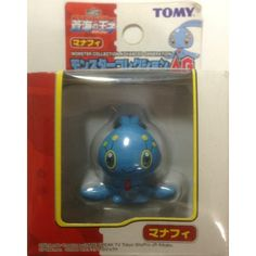 Pokemon 2006 Manaphy Tomy 2 Monster Collection AG Plastic Figure