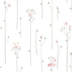 Kids Wallpaper, Pattern Wallpaper, Cool Designs To Draw, Dress Design Patterns, Photo Frame Design, Glazed Ceramic Tile, Baby Fabric, Simple Prints, Little Flowers