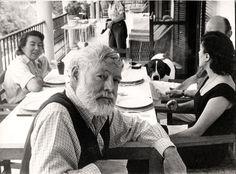 Ernest Hemingway on his sixtieth birthday