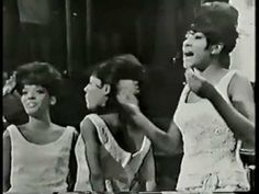 """He's A Rebel"" - The Crystals -  1960s cute well dressed girls with great voices + rebel boyfriends. original video..go-go dancers in the background can't dance...the 60s!!!"