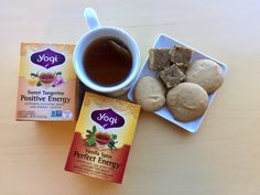 Spice up your holidays with these delicious goodies made with some of your favorite Yogi teas!  Sweet Tangerine Positive Energy Cookies  Ingredients ½ cup agave 2 – 3 Yogi Sweet Tangerine Positive Energy tea bags 1 T orange rind 1 ¼ cups flour ½ cup butter Pinch of salt Pinch of […]