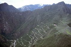 An example of the Inca Road system. The road system had Chasquis, or messengers send messages or carry things back and forth. It help aid and improved military movement.