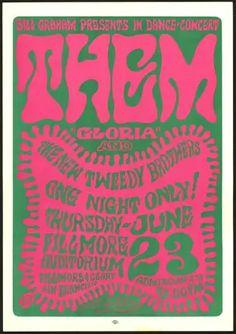 Monterey Pop Festival, Blue Cheer, Grateful Dead, Poster Company, Wes Wilson, Fillmore Auditorium, Fillmore West, Bill Graham, Cinnamon Sugar Donuts