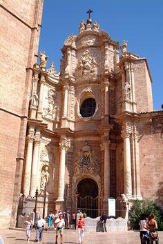 Catedral de Santa Maria - Esta puerta todo el mundo la conoce como la puerta de las rejas . Valencia ( España ) ..... RODRIMAN ..... LRM