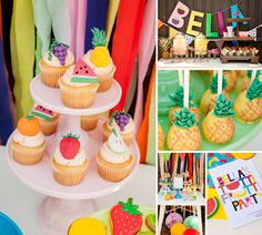 Colorful, Cutie & Tutti Frutti Party!